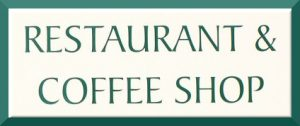 restaurant & coffee shop sign